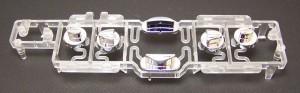 Polypropylene Button Housing | Assembled DVD Chrome Plated ABS | 2 Weeks