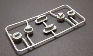 ABS Aluminum Tooling SPI #1 Pre-Chrome Plating Finish Plastic Prototype