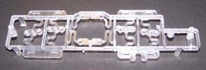 Chrome Plated Buttons Housing Assemble Polypropylene Fixture