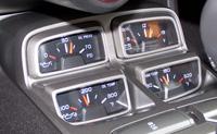 2010 Chevy Camaro Interior Center Stack Plastic Prototype   ABS   Noryl