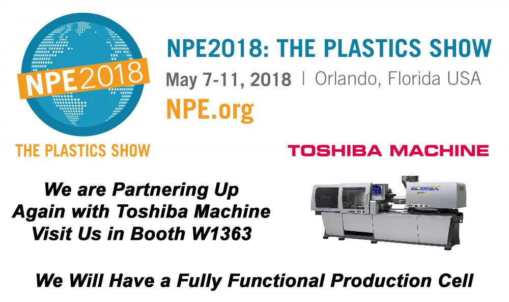 NPE 2018 - Aluminum Tooling | Rapid Plastic Prototypes from